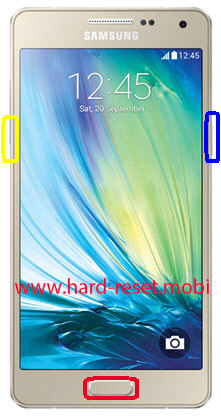 Samsung Galaxy A5 SM-A500G Download Mode
