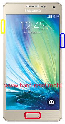 Samsung Galaxy A5 SM-A500YZ Hard Reset