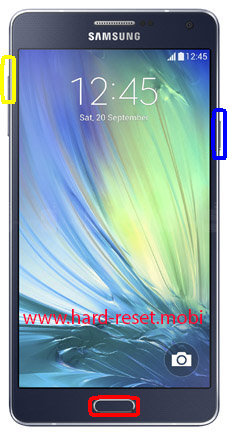 Samsung Galaxy A7 SM-A700S Hard Reset
