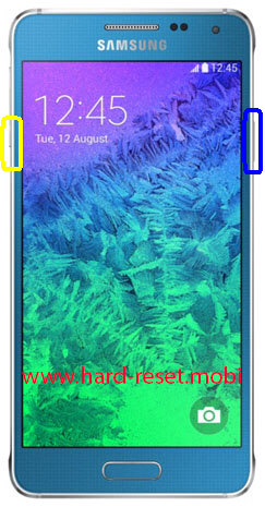 Samsung Galaxy Alpha SM-G8508S Soft Reset