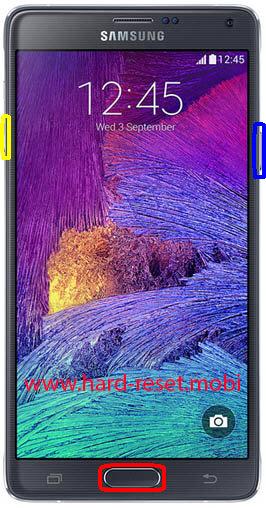 Samsung Galaxy Note 4 SM-N9106W Download Mode