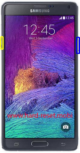 Samsung Galaxy Note 4 SM-N9106W Soft Reset