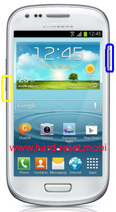 Samsung Galaxy S3 Mini GT-I8190L Soft Reset