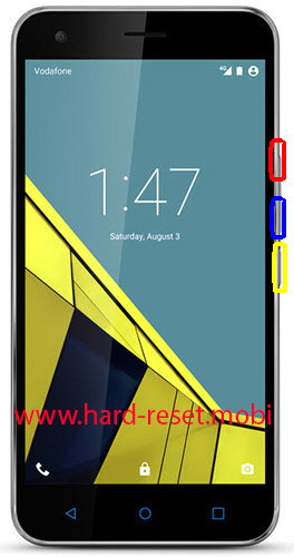Vodafone Smart Ultra 6 Hard Reset