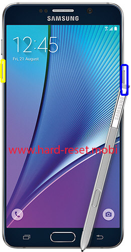 Samsung Galaxy Note 5 Soft Reset