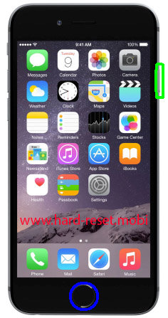 Apple iPhone 6S Soft Reset