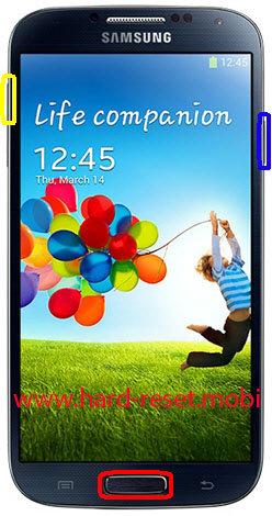 Samsung Galaxy S4 LTE GT-I9505 Hard Reset