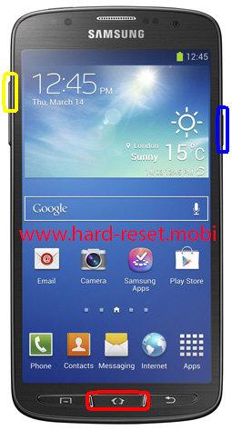 Samsung Galaxy S4 Active SGH-I537 Hard Reset