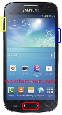 Samsung Galaxy S4 Mini LTE GT-I9195 Hard Reset