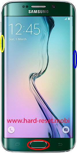 Samsung Galaxy S6 Edge SM-G925S Download Mode