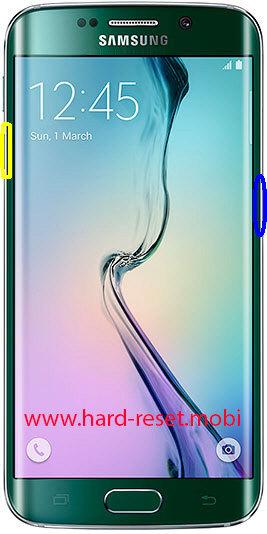 Samsung Galaxy S6 Edge SM-G925S Soft Reset