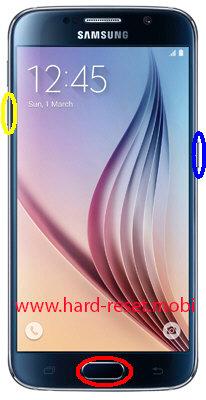 Samsung Galaxy S6 SM-G920K Download Mode
