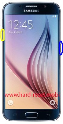 Samsung Galaxy S6 SM-G920S Soft Reset