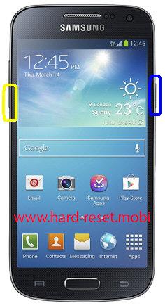 Samsung Galaxy S4 Mini LTE GT-I9195T Soft Reset