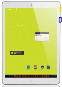 Turbo-X Tablet Hive V 3G Soft Reset
