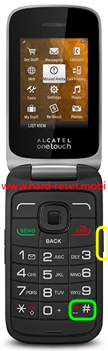 Alcatel 2017B Hard Reset