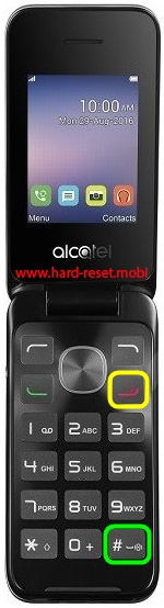 Alcatel 2051 Hard Reset