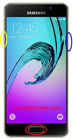 Samsung Galaxy A3 2016 Download Mode
