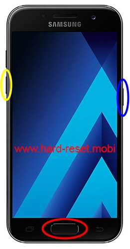 Samsung Galaxy A3 2017 Download Mode