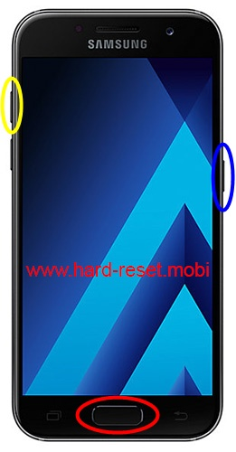 Samsung Galaxy A3 2017 Hard Reset