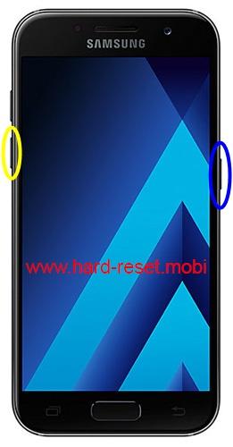 Samsung Galaxy A5 2017 Soft Reset