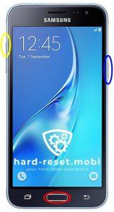 Samsung Galaxy J3 2016 Hard Reset