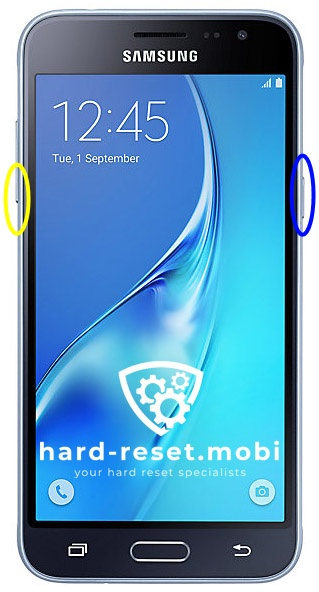 Samsung Galaxy J3 2016 Soft Reset
