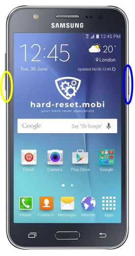 Samsung Galaxy J5 Soft Reset
