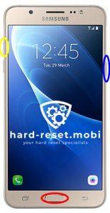 Samsung Galaxy J7 2016 Hard Reset