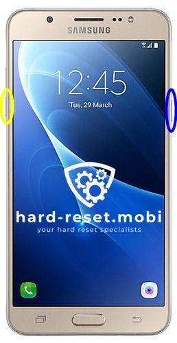 Samsung Galaxy J7 2016 Soft Reset